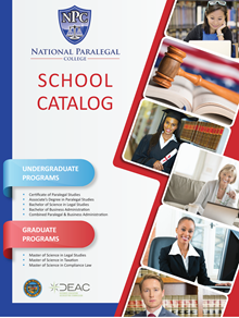 National Paralegal College School Catalog